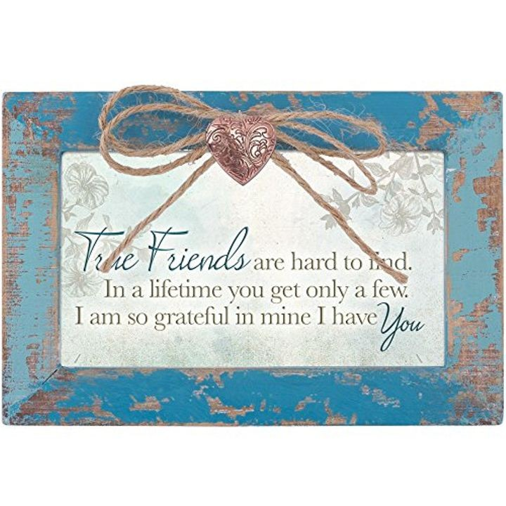 """True Friend"" Locket Box"