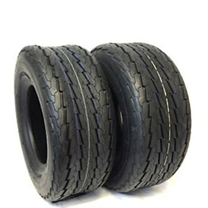 Power King Load Range C 6 Ply Rated Highway Speed DOT Approved Trailer Tires - 18.5X8.50-8 8""
