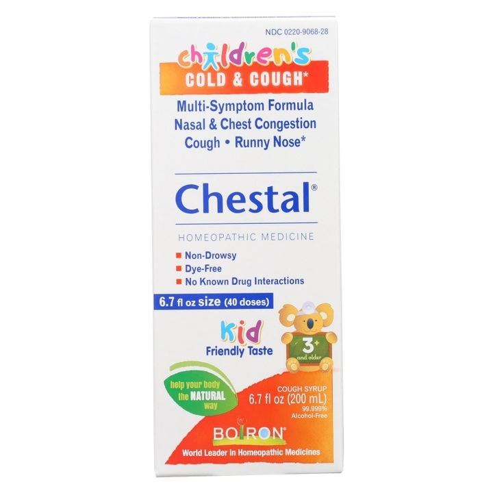 - Children's Chestal Cough And Cold - 6.7 Oz