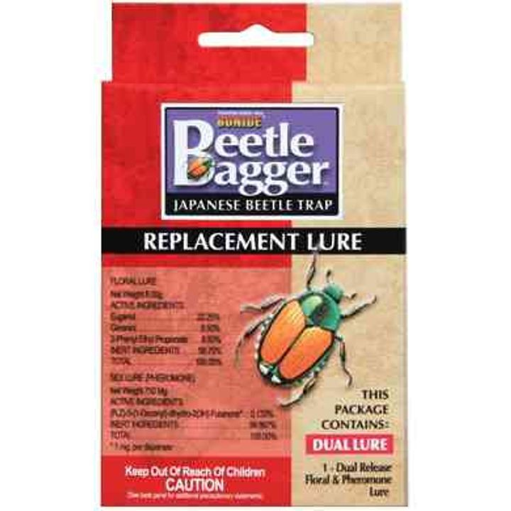 Beetle Bagger Japanese Beetle Trap Replacement Lure