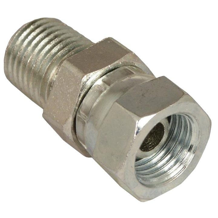 "1/4"" Male Pipe Thread X1/4"" Female Pipe Thread Swivel Hydraulic Adapter"