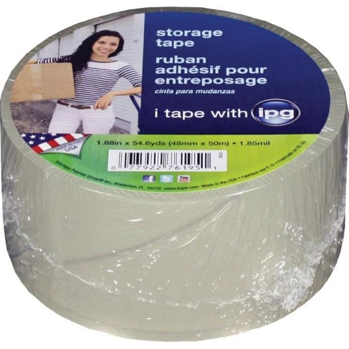 1.9  X 55 Inches Clear Storage tape