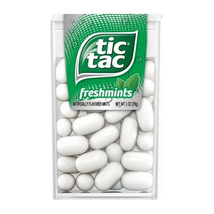 1 Oz Tic Tac Freshmints Mint Candies