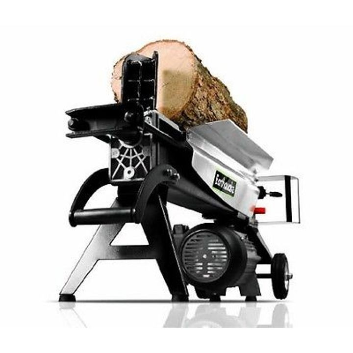 Compact 5-Ton Electric Log Splitter