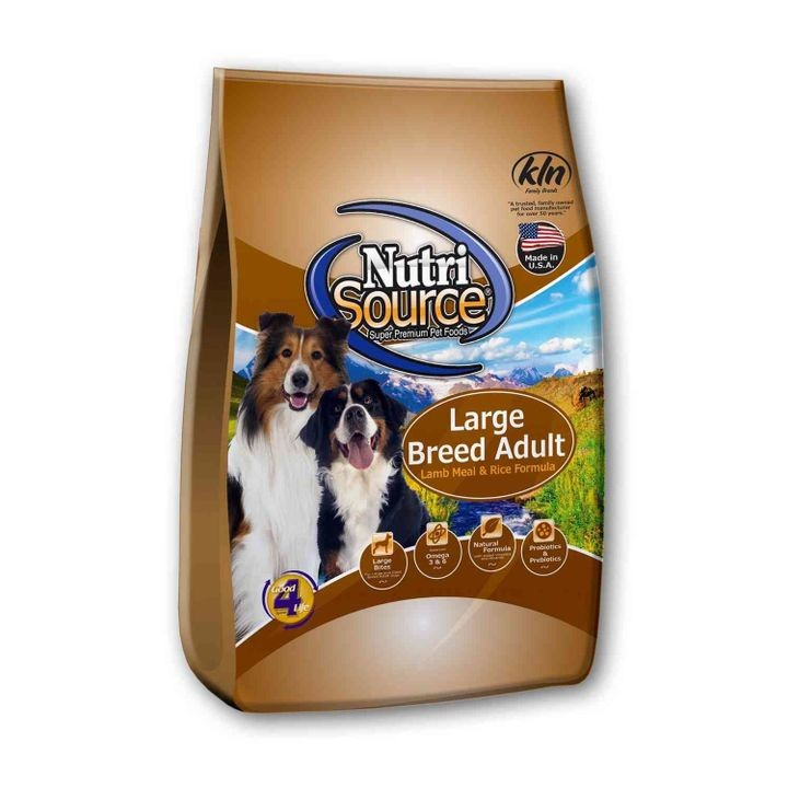 Large Breed Lamb Dog Food 33lbs