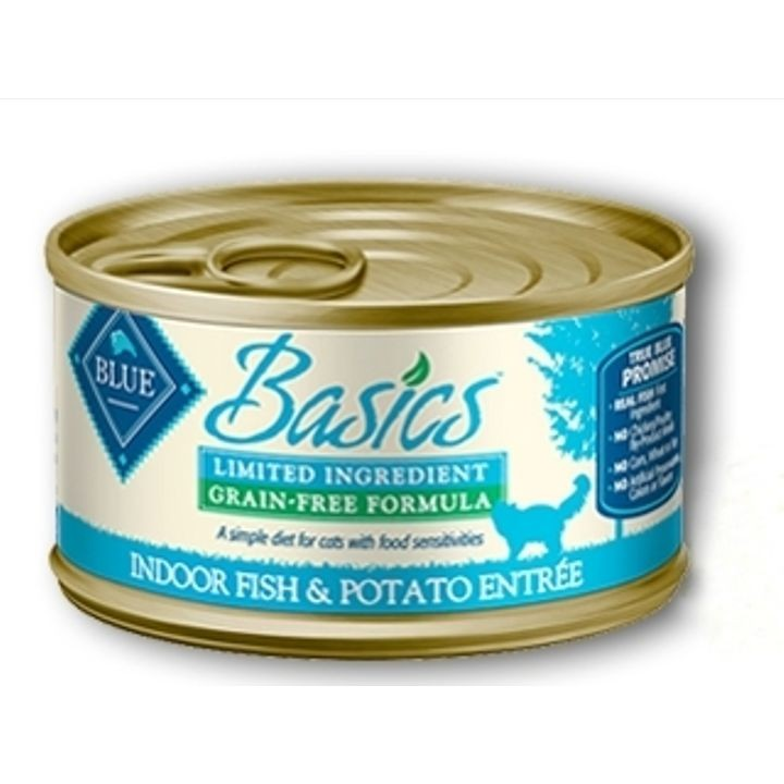Basics Limited Ingredient Grain-Free Canned Food For Adult Cats