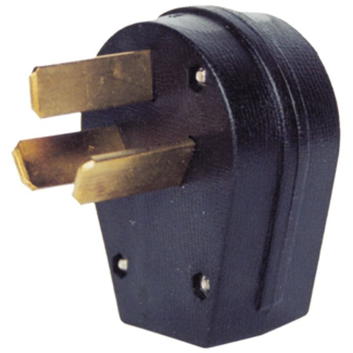 Crowfoot 50 Amp Male Plug