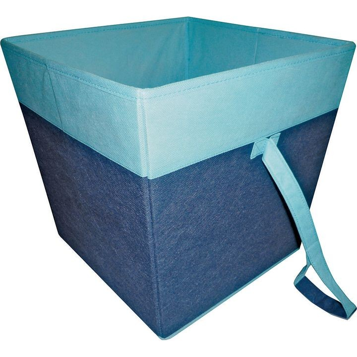 05000953b Storage Bin, 15 X 15 X 15 In, Blue
