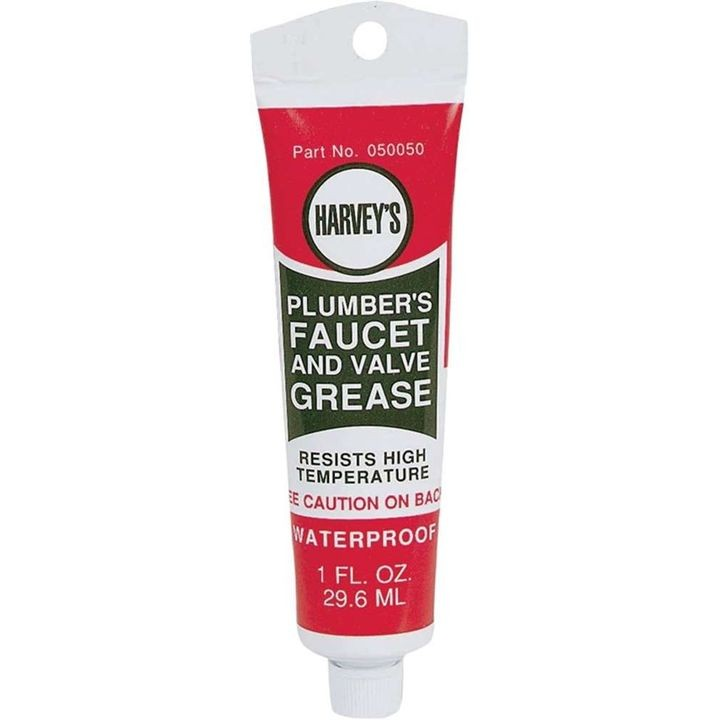 1 Oz Faucet/Valve Grease Amber Semi-Solid Gel