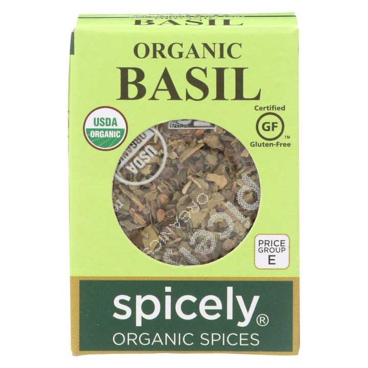 - Organic Basil - Case Of 6 - 0.1 Oz.