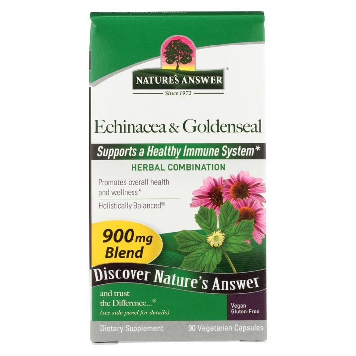 - Echinacea With Goldenseal - 90 Vcaps