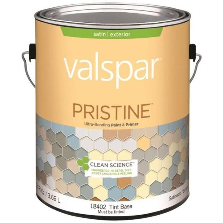 1 Gallon Stain Tint Base Pristine Exterior Paint