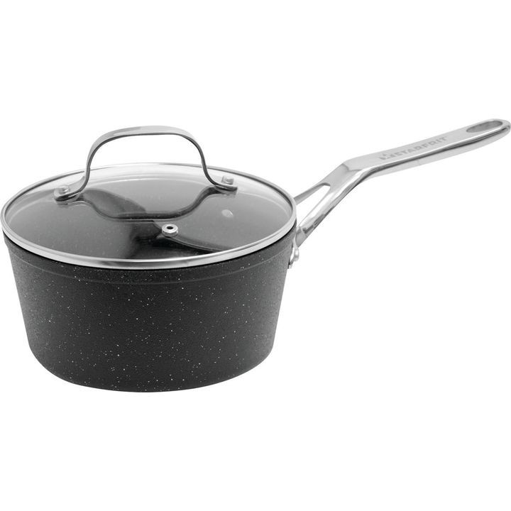 060315 004 Covered Sauce Pan With Glass Lid, 2 Qt Capacity, 15 In L X 10 In W X 9 In H, Aluminum