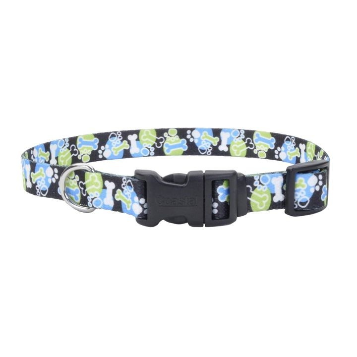 "1"" x 18-26"" Outreach Pattern Adjustable Dog Collar"