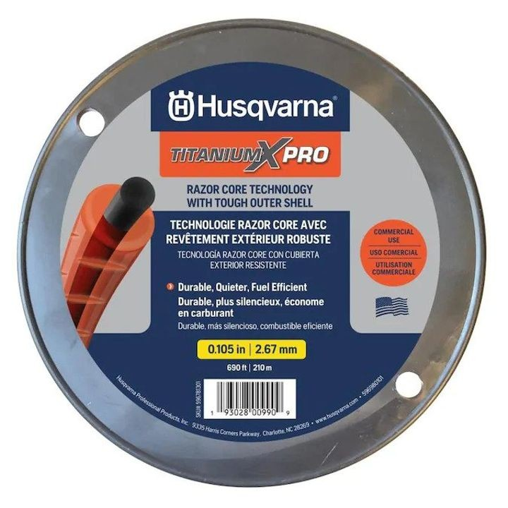0.105 in. x 3 lb. Spool TitaniumX Pro Trimmer Line