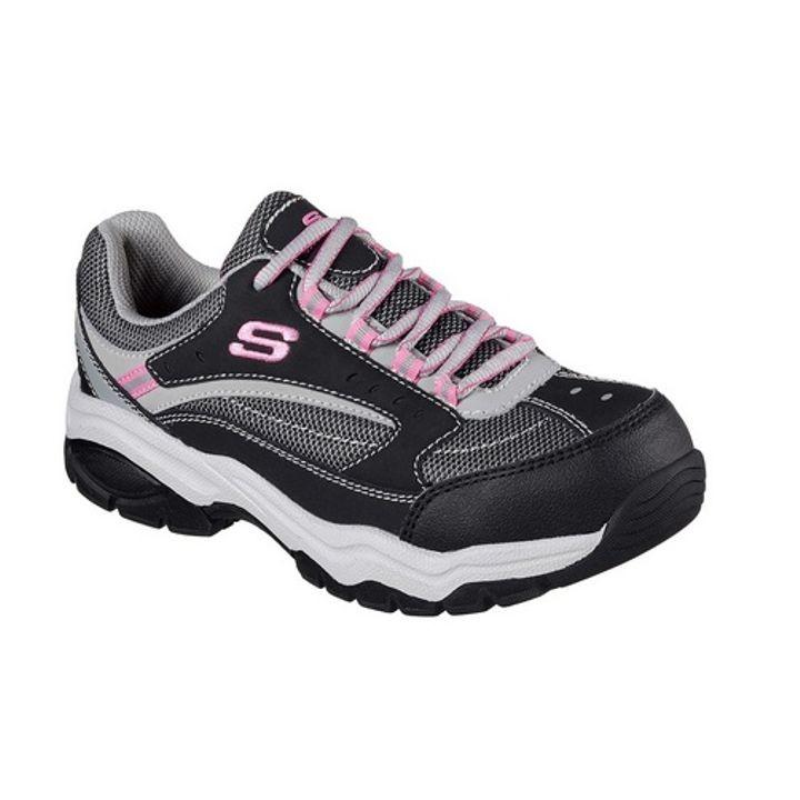 Ladies Steel Toe Bisco Work Sneaker