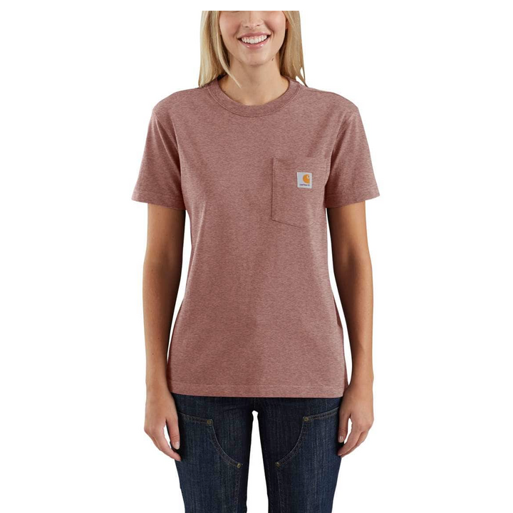 Ladies' WK87 Workwear Pocket SS T-Shirt