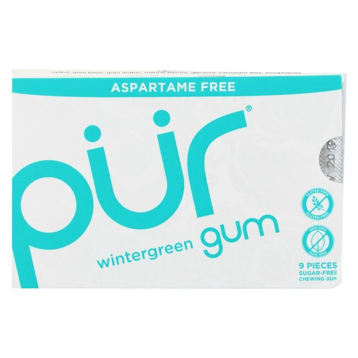 Wintergreen - Aspartame Free - 9 Pieces - 12.6 G - Case Of 12