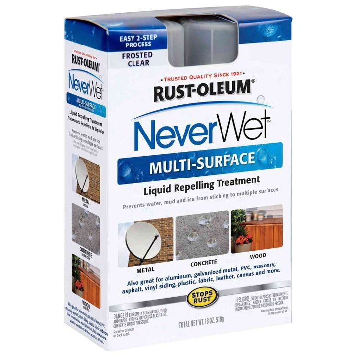NeverWet Multi-Surface Liquid Repelling Treatment Kit