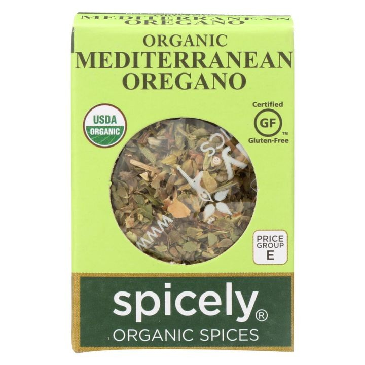 - Organic Oregano - Case Of 6 - 0.15 Oz.