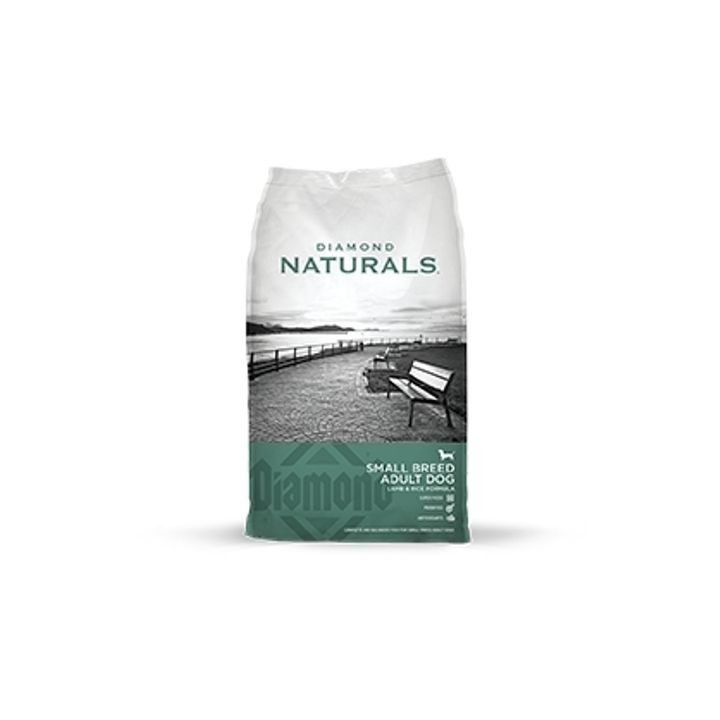 Naturals Small Breed Adult Dog Lamb & Rice Formula