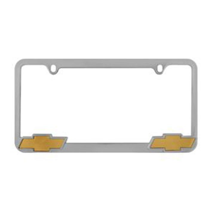 Chrome Chevrolet License Plate Frame | Theisen\'s Home & Auto