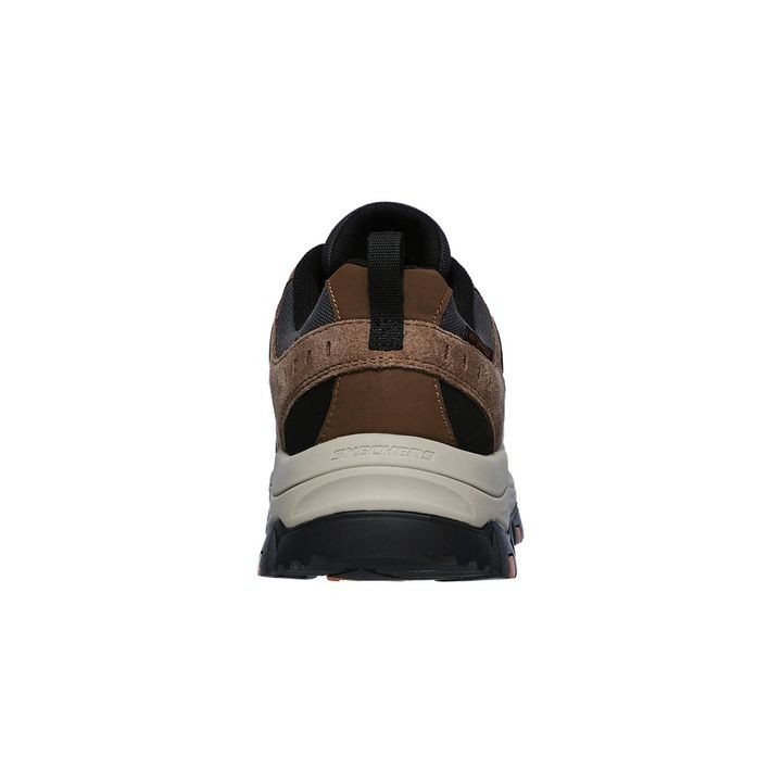 Skechers Men's Work Greetah Comp Toe Brown Shoe