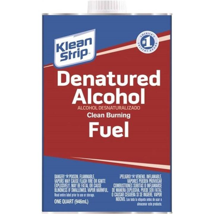 1 Quart Denatured Alcohol Fuel