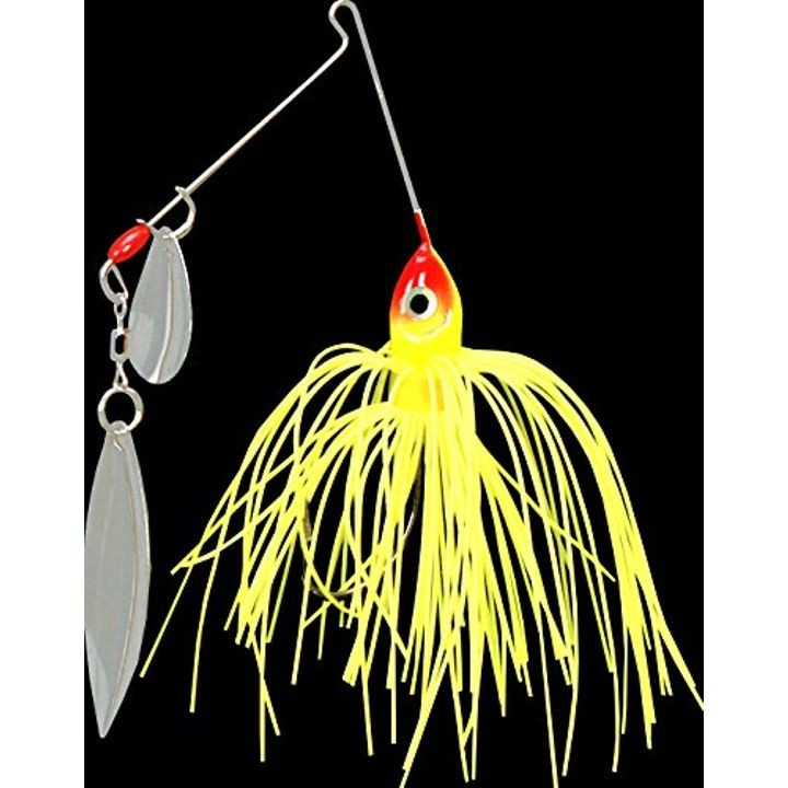 1/8 oz Premier Pro-Model Colorado Willow Spinnerbait - Chartreuse