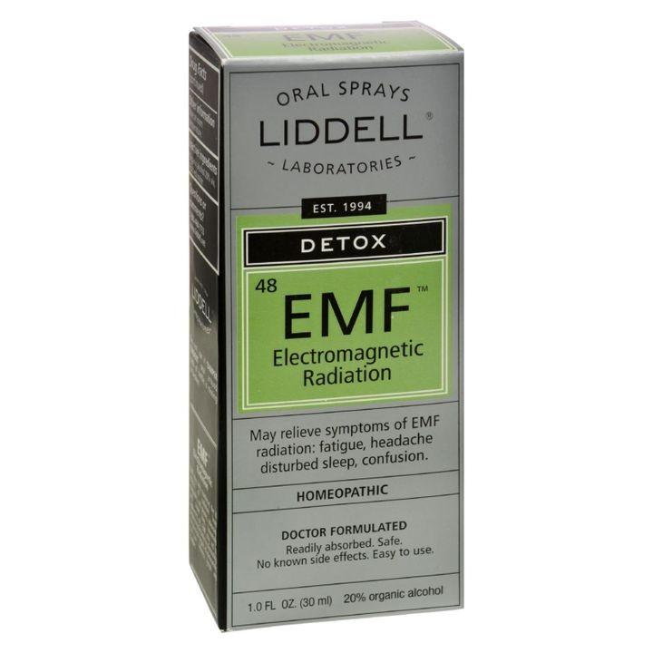 Liddell Homeopathic Anti Tox Elecenteromagnetic Emf Radiation 1 Fl Oz