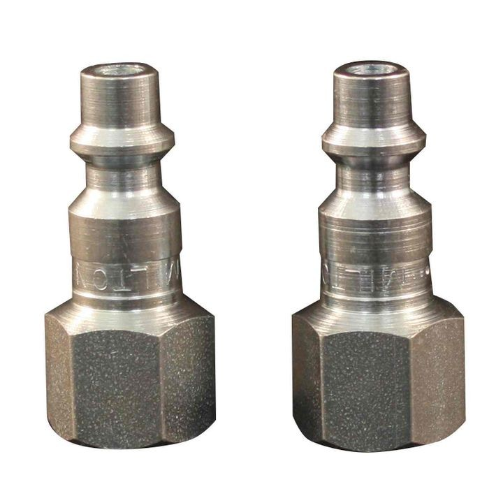 "1/4"" ""M"" Style Female Plug Coupler 2 PK"