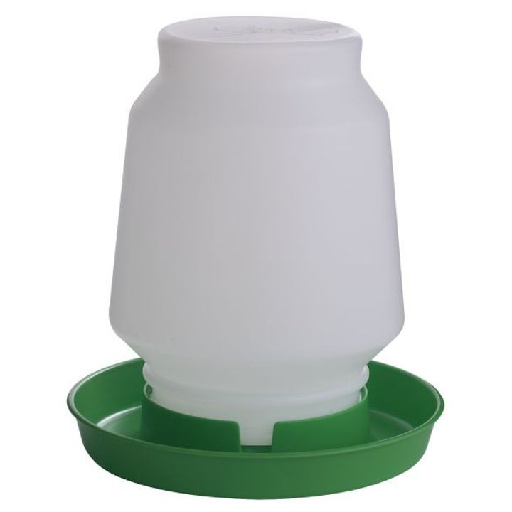 1 Gallon Complete Plastic Poultry Fount - Green
