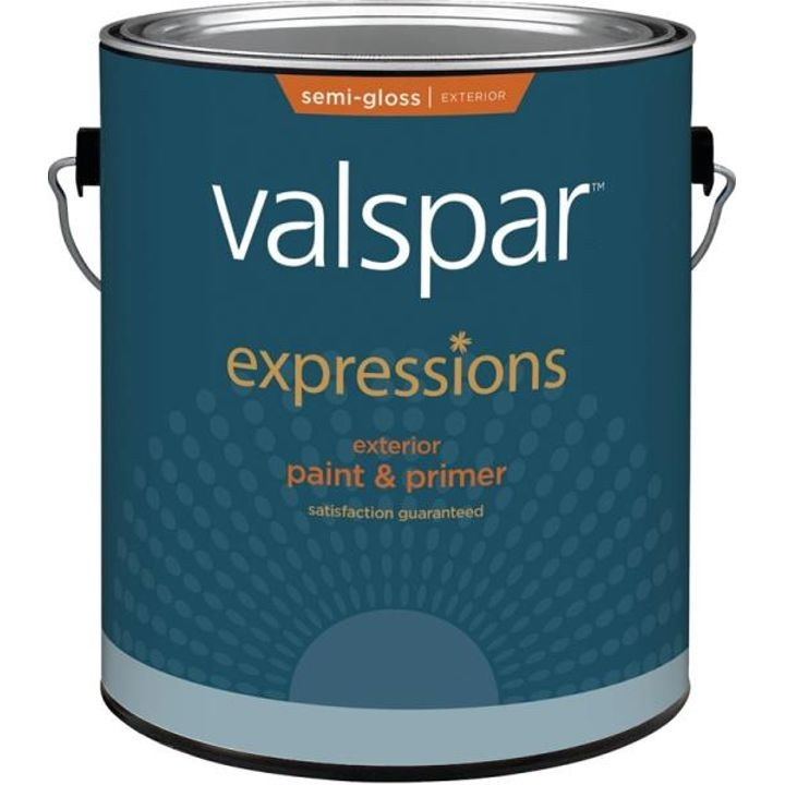 1 Gallon Clear Expression Exterior Paint and Primer