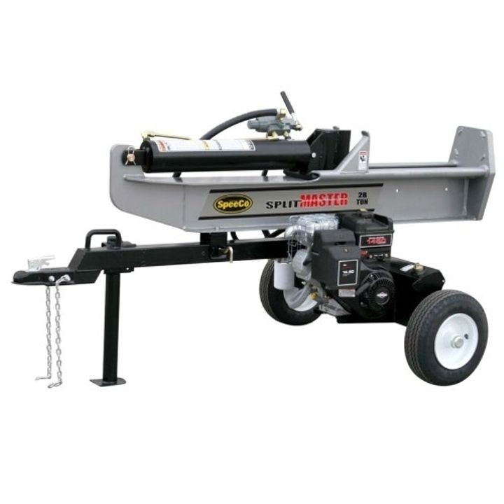 28 Ton Log Splitter