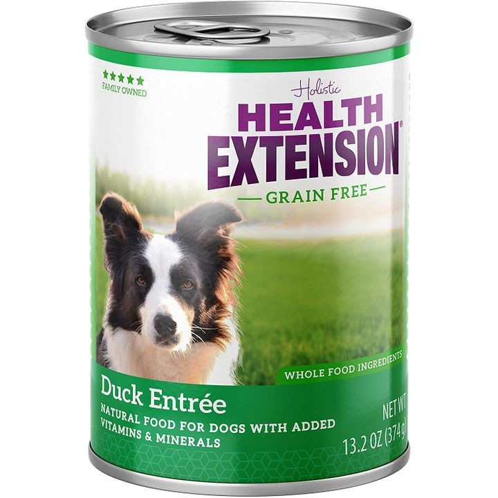 13.2 Oz Grain Free Duck Entree Canned Wet Dog Food