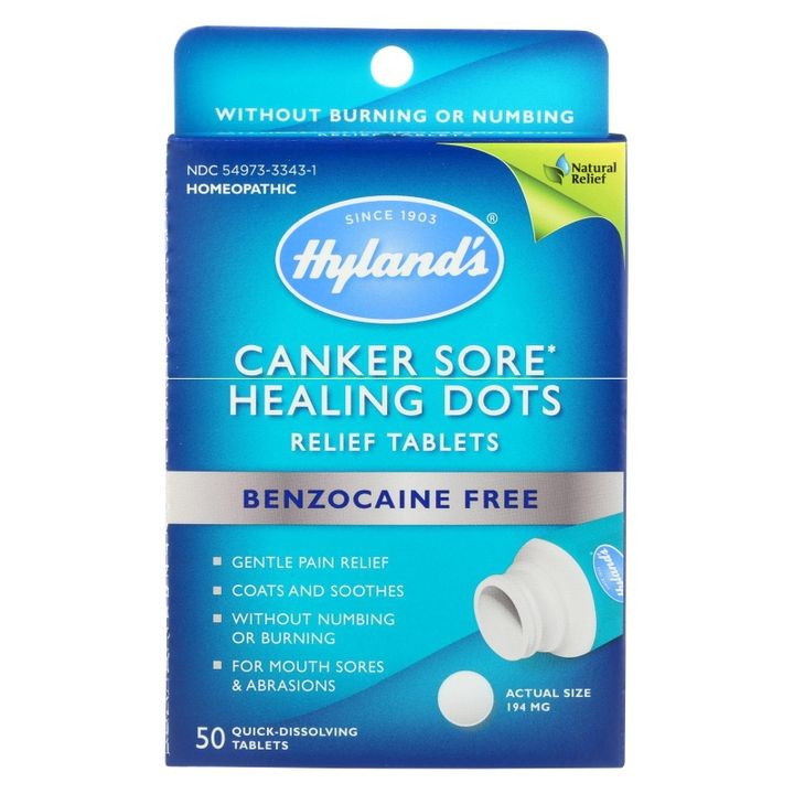 - Canker Sore Relief Dots - 1 Each - 50 Tab
