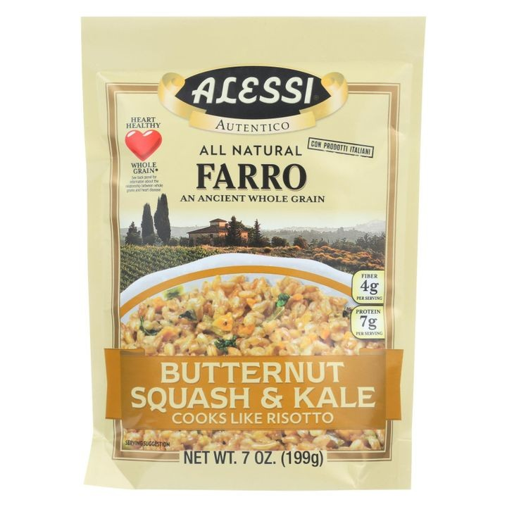 Farro Butternut Squash And Kale - Case Of 6 - 7 Oz