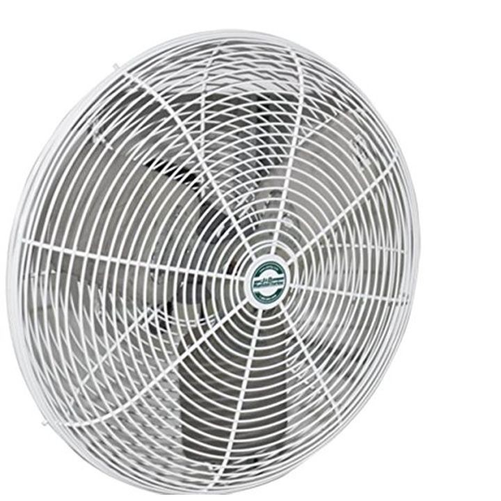 High Output Deluxe Basket Fan with Bracket