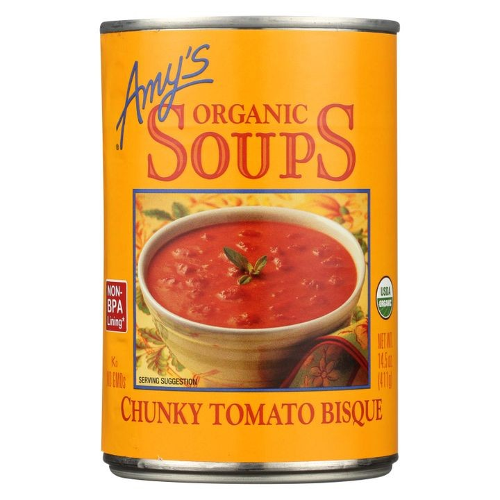 - Organic Chunky Tomato Bisque - Case Of 12 - 14.5 Oz