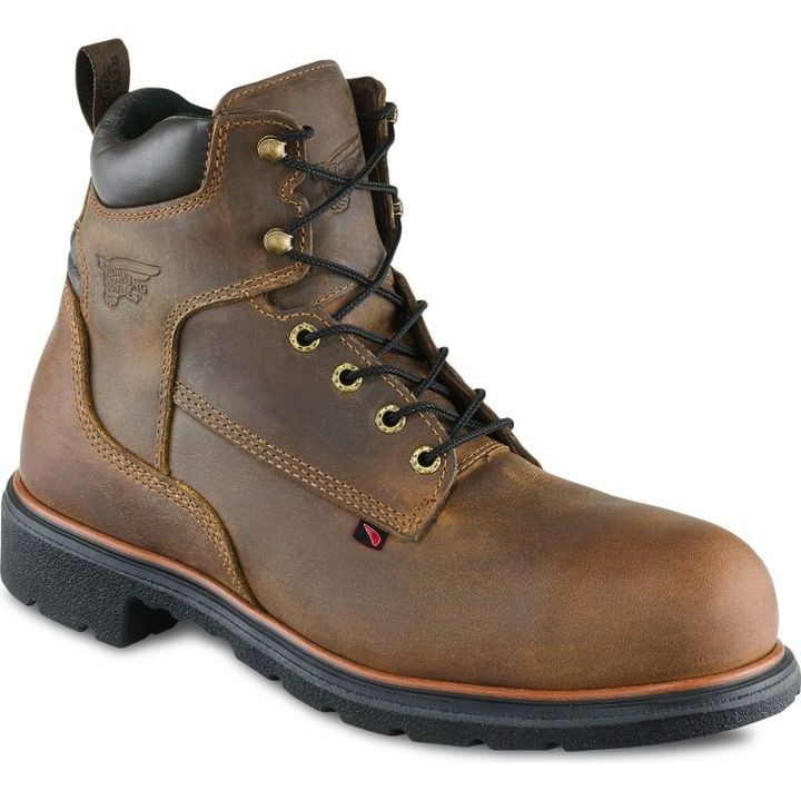 "Men's Golden Bighorn 6"" Leather Steel Toe Work Boot"