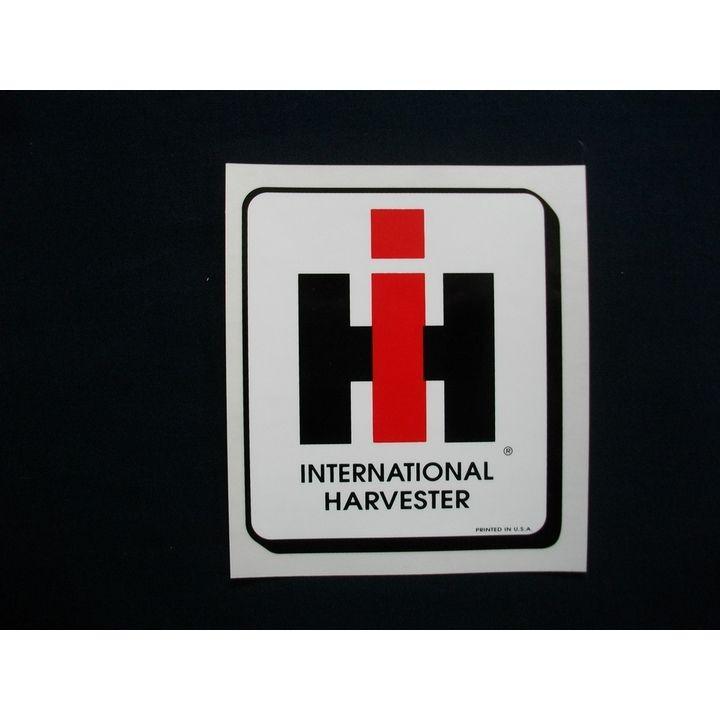 International Harvester Logo >> International Harvester Logo 9 Inch Shaded Outline Decal Theisen S