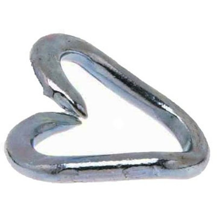 "1/4"" x 1/4"" Repair Link - Zinc Plated Steel"