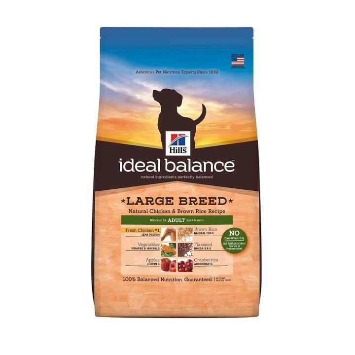 Ideal Balance Large Breed Natural Chicken & Brown Rice Recipe Adult Dry Dog Food