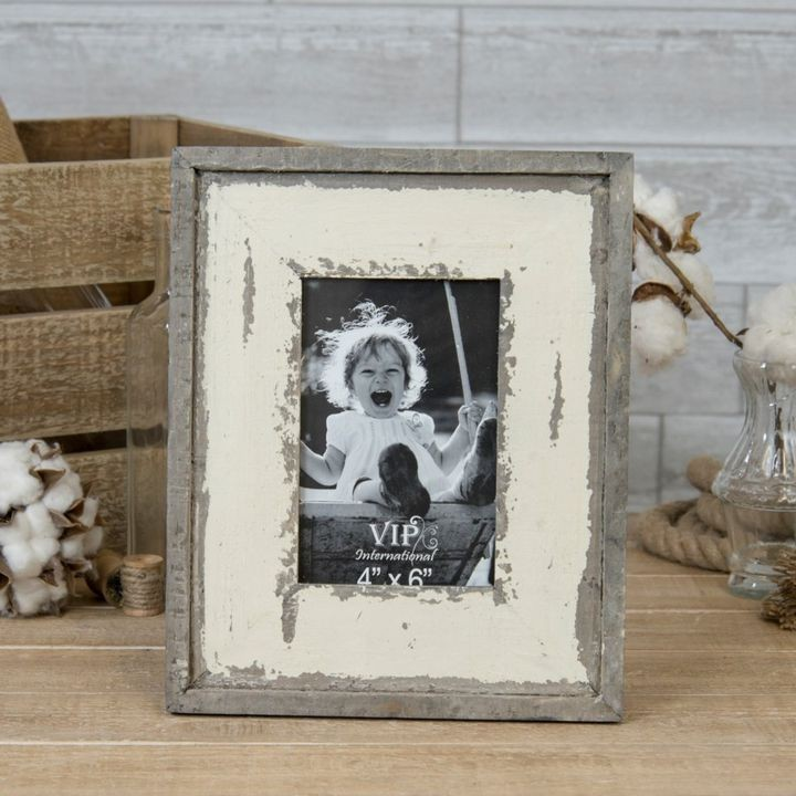 "11.5"" Wood Tabletop Picture Frame Decor"
