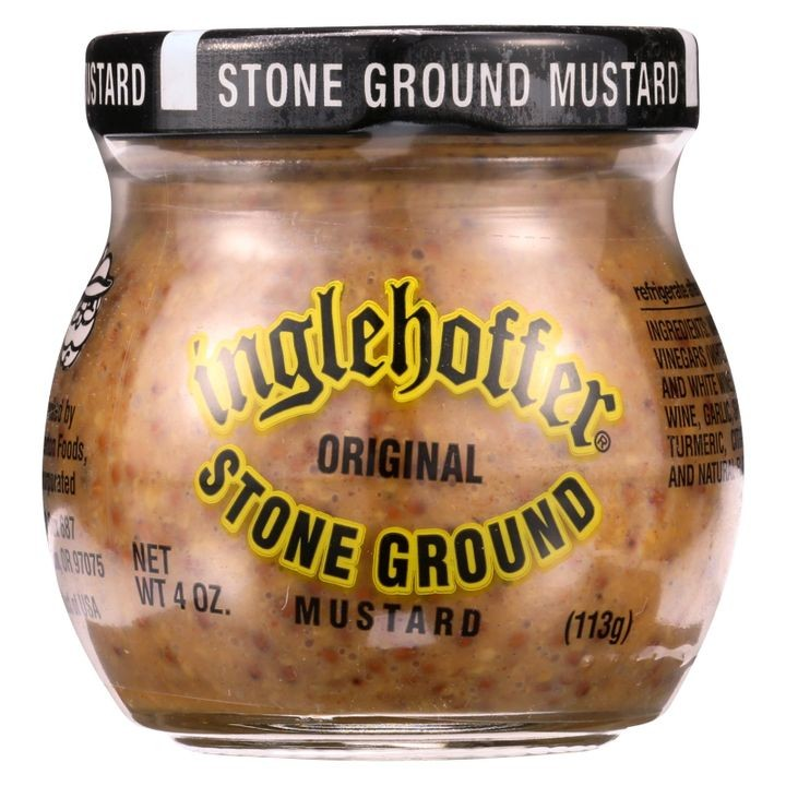 - Mustard - Stone Ground - 4 Oz - Case Of 12