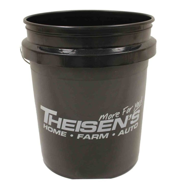 Encore Plastics 5 Gallon Theisen's Logo Bucket