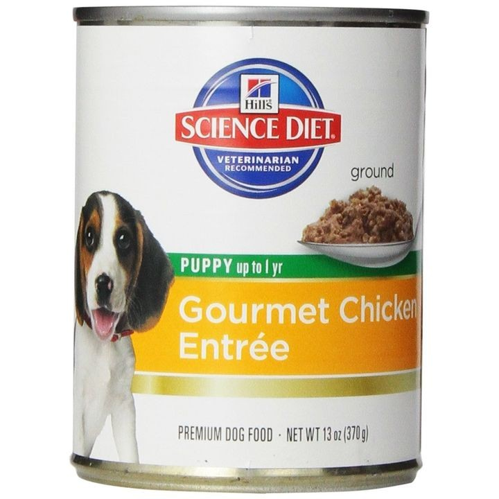 Gourmet Chicken Canned Puppy Food