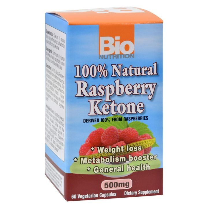 - Raspberry Keytones - 500 Mg - 60 Ct