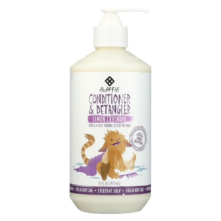- Everyday Conditioner And Detangler - Lemon Lavender - 16 Fl Oz.