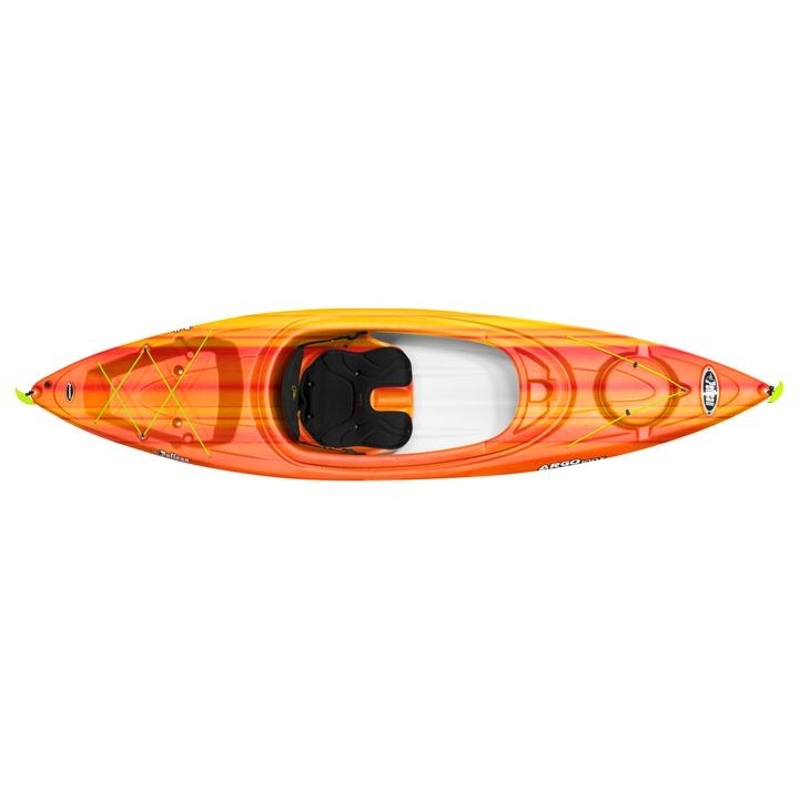 Pelican Argo 100 10' Orange Kayak with Paddle